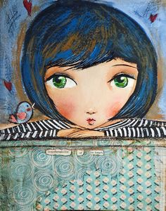 love this so much! Aline for illustrations