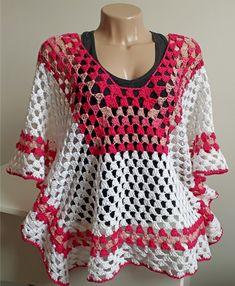 Compre Bata Branca e Rosa em Crochê no Elo7 por R  172 7a39186d075