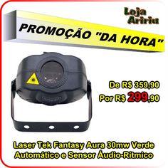 PROMOÇÃO! Laser Tek Fantasy Aura 30mw Verde Áudio-Rítmico: De R$ 359,90 Por R$ 299,90 em http://www.aririu.com.br/raio-laser-verde-30mw-bivolt-tek-fantasy-aura-audioritmico_48xJM