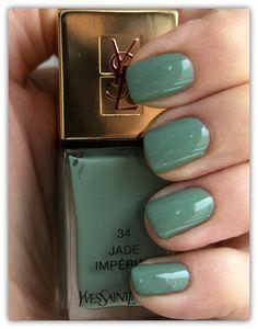 YSL Nail Polish 34 Jade Imperial