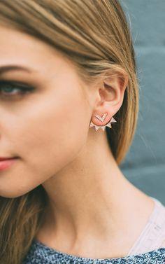 Chevron Ray Ear Jackets