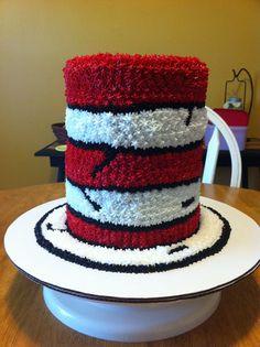 cat in the hat cake  Happy birthday Elli