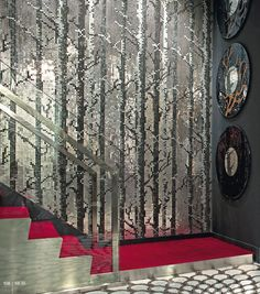 Glass mosaic / indoor / to be attached IPIX COLLECTION : FOREST SICIS
