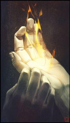 Flame of life by GaudiBuendia on deviantART