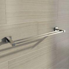 Cubik Double Towel Rail
