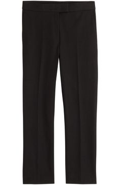 When you'd rather be wearing jeans but have to look a little more pulled together, turn to the little black pant. Tailor them to make sure the hem hits just above the ankle—it's a flattering length that works with flats as well as heels.  Joseph Cropped Pants, $335; stylebop.com   - ELLE.com