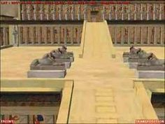 """The mortuary temple of Queen Hatshepsut is one of the most dramatically situated in the world. The queen's architect, Senenmut, designed it and set it at the head of a valley overshadowed by the Peak of the Thebes, the """"Lover of Silence,"""" where lived the goddess who presided over the necropolis."""