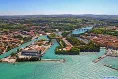 Peschiera del Garda Lake Garda, View Source, Places To See, Paris Skyline, Water, Travel, Outdoor, Image, Gripe Water