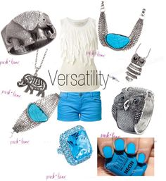 """Versatility"" by parklanejewelry on Polyvore For this set, visit www.JennsBlingThing.com or www.myparklane.com/jsinclair"