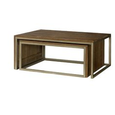 Hammary Flashback Nesting Coffee Table & Reviews | Wayfair  The one i sent you a picture of was laz-y-boy, but this on is close