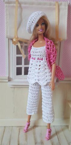 Barbie vous présente aujourd'hui l'ensemble Inaya La fiche contenant les explications de la te...