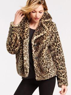 Boxy Faux-fur Jacket - Victoria's Secret