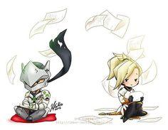 Genji Mercy love