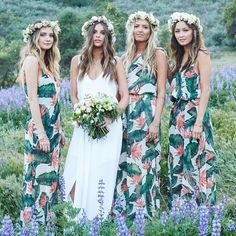 "Show Me Your Mumu on Instagram: ""Destination wedding anyone?! Tag your maids #mumuweddings #paradisefound"""