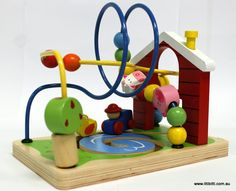 Toys Link - Wooden Wire Game - Farm