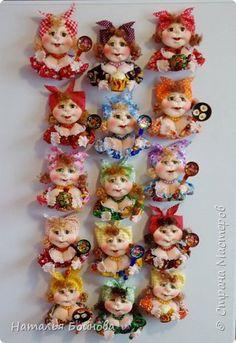 Clay Crafts, Adele, Biscuit, Teddy Bear, Dolls, Sewing, Handmade, Animals, Refrigerator