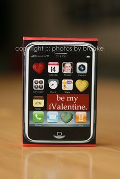 iPhone Valentines from The Crafting Chicks!