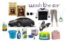 """Washing The Car"" by michelle858 ❤ liked on Polyvore featuring Electric Yoga, Converse, ExceptionalSheets and Bling Jewelry"