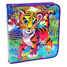 Lisa Frank...what 6 year old girl WOULDN'T want a neon glitter unicorn on her trapper keeper?