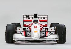 McLaren MP48 Formula 1 Car Front 740x514 - Ayrton Senna's Original 1993 McLaren MP4/8 Formula 1 Car Italian Grand Prix, Mario Andretti, Monaco Grand Prix, Formula 1 Car, Mclaren Mp4, New Engine, Vintage Racing, Cars For Sale, Race Cars