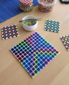 Hama perler bead tiles by Villi.Ingi