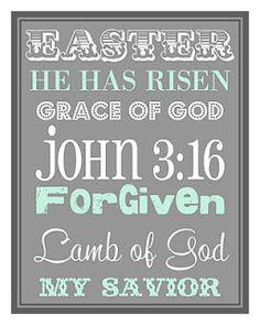 He has risen...he has risen indeed