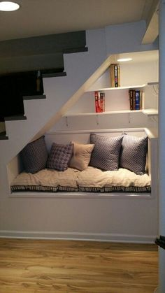 44 Unbelievable Storage Under Staircase Ideas Bewitching Your Staircase Look Cle. 44 Unbelievable Storage Under Staircase Ideas Bewitching Your Staircase Look Clever Under Staircase Ideas, Under Stairs Nook, Storage Under Staircase, Stair Storage, Small Staircase, Basement Storage, Modern Staircase, Bed Storage, Craft Storage