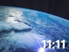 Números 11.11 la secuencia numérica de un grupo de 1.111 Espíritus Guardianes o Ángeles