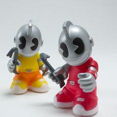 Kidrobot 'Bots Blind Mini Series, now featured on Fab.