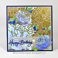 Pfingstrosen /peonies by The Ton Stamps