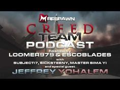 Respawn Creed Team Podcast (Ep.2) - The Lost Archive w/ Jeffrey Yohalem