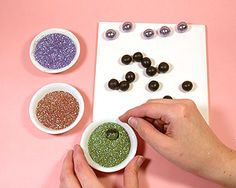 Polymer Clay & Glitter Bead Jewellery Project