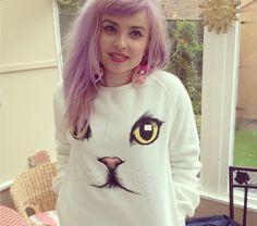 ROMWE cat sweater