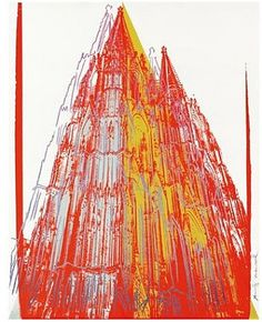cologne cathedral trialproof by andy warhol