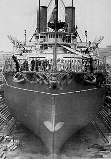 HMSSansPareil1897 - HMS Victoria (1887) - Wikipedia, the free encyclopedia