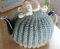 Tea Cosy by LittleDaisyKnits on Etsy,