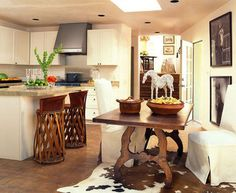 Kitchen dining table southwest style