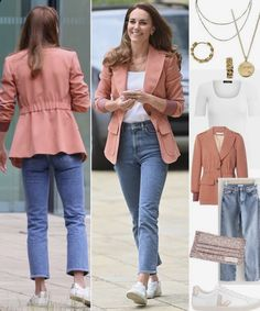 Looks Kate Middleton, Kate Middleton Outfits, Princess Kate Middleton, Style Icons Inspiration, Queen Kate, Kate Dress, Casual Work Outfits, Duchess Kate, Casual Looks