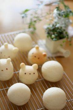 mini bear buns