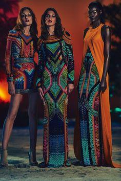 Balmain Resort | 2017 | Fashion Show | Via Vogue