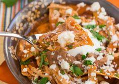 Red Chicken Chilaquiles Recipe – Dan330