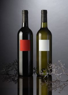 Red and White Wine | label