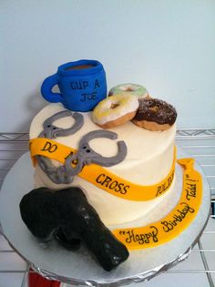 A cake for a cop Made by:  Cakes Your Way www.facebook.com/mccoycakes