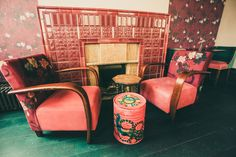 THE STAR OF BETHNAL GREEN - Hackney, London by KAI Interiors - Fire Place and Vintage Chairs