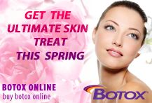 This spring GET the ULTIMATE Skin Treat! Order BOTOX Today!