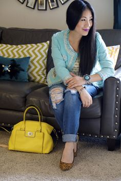 How to wear ripped jeans without looking trashy!