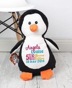 Penguin Cubbie - 30cm - Teddie Lane