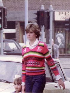 Lady Diana In her Inca inspired Jumper sometime between Sep 1980 and Feb 1981 - if you have details please post