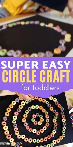 Easy Circle Craft for Toddlers