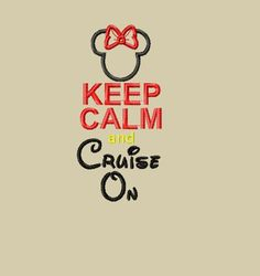 Design  INSTANT DOWNLOAD Miss Mouse Keep Calm by glitzystitches, $3.75